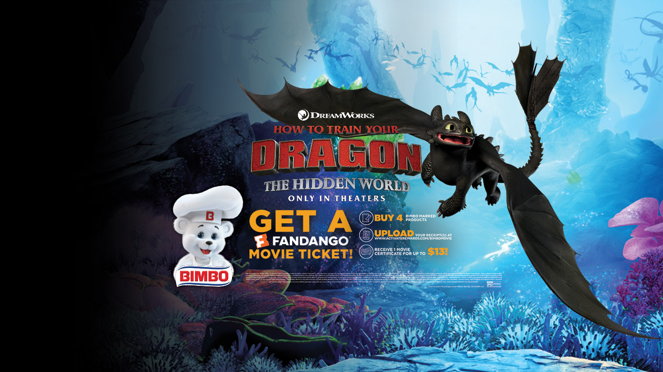 How to train your dragon: the hidden world - only in theaters - get a Fandano movie ticket!