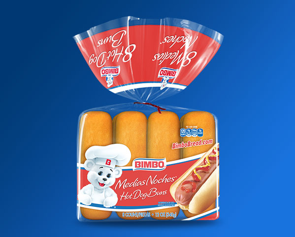 Hot Dog Buns Bimbo