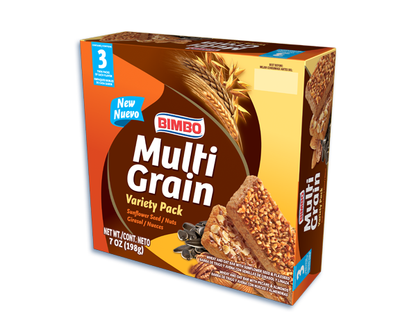 Multi Grain Cereal Bar Variety Pack