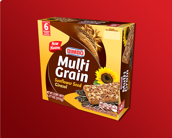 Multigrain Sunflower Seed Bars Box