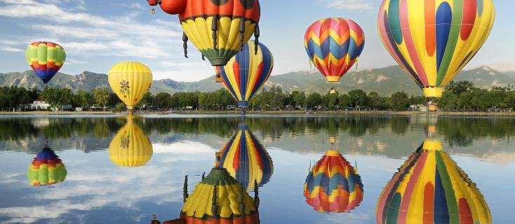 In 2016 the Hot Air Balloon Festival takes over the USA and BIMBO® USA joins this magical event, with a gigantic Bimbo Bear Hot Air Balloon