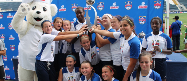 Activate your love for soccer with Bimbo® USA. In 2016, both boys and girls will live a unique soccer experience with the return of the Bimbo B-Active Cup
